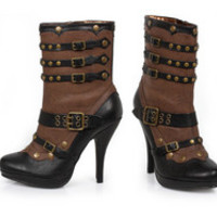 "Women's 4"" Steam Punk Bootie"