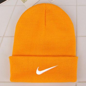 Nike Fashion Edgy Winter Beanies Knit Hat Cap