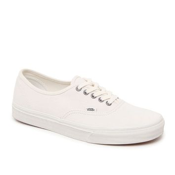 Vans Authentic Washed Shoes - Mens Shoes - White/White