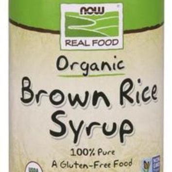 Now Foods Brown Rice Syrup Organic 16 oz.