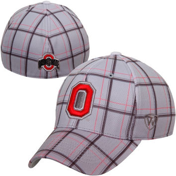 Top of the World Ohio State Buckeyes Fuse One-Fit Flex Hat - Gray