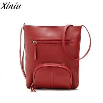 Womens Retro Handbag Lady Business Style Leather Satchel Shoulder Bag Vintage Messenger Bag Tote Bag Bolsas De Couro *7726