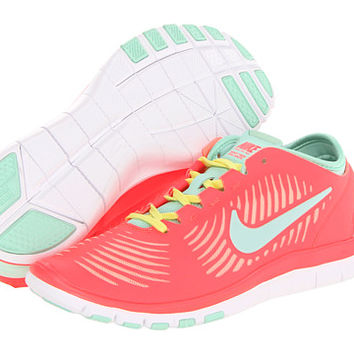 Nike Free - Atomic Red/Atomic Pink/Sonic Yellow/Arctic Green