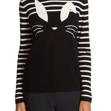 kate spade new york bunny wool blend sweater | Nordstrom