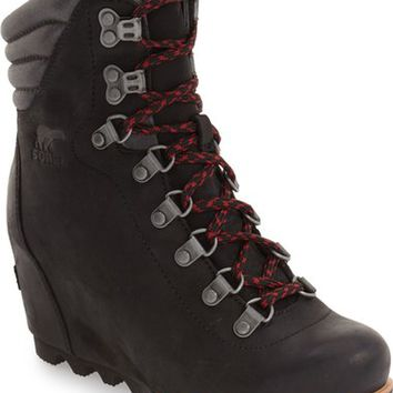 SOREL 'Conquest' Waterproof Wedge Boot (Women) | Nordstrom