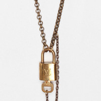 Urban Outfitters - Vintage Louis Vuitton Lock Necklace