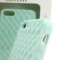 Best Amazing Beautiful Durable Mint Green iPhone 5 5s Case Protective Textured Rubberized Cover in casemTM Retail Package Deal of the Day Sale Buy Now Satisfaction Guaranteed