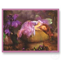 Fantasy Fairy Child Post Cards from Zazzle.com
