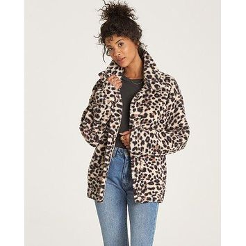 Billabong - Cozy Days Sherpa Jacket | Whisper