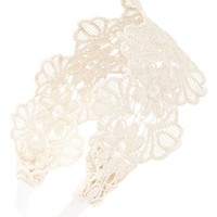 Carole Floral Lace Head Wrap (Juniors) | Nordstrom