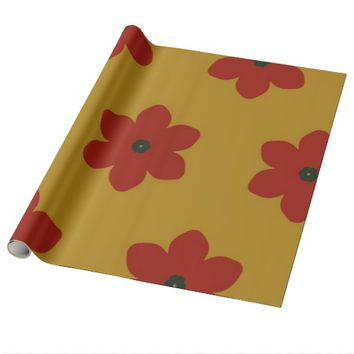 Poppies Wrapping Paper
