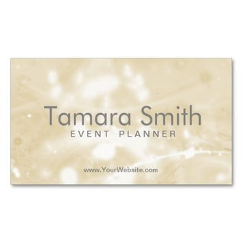 Very Soft Orange And White Spotlight Pack Of Standard Business Cards