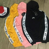 NIKE tide brand casual fashion men and women casual hooded jacket F-HYLFZC