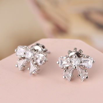 Stylish Butterfly Earring Jewelry [6573075079]