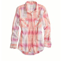AEO Factory Girlfriend Button Down Shirt