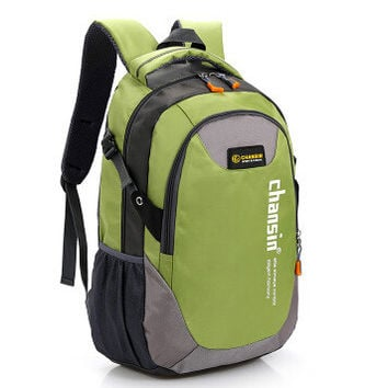 Double-Shoulder Travel Printing backpack