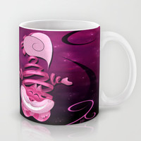 Ribbon Cat Mug by LouJah | Society6