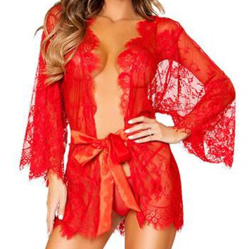 new Women Baby Doll Sexy Lingerie for Sleepwear size m