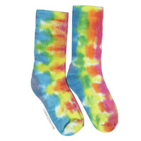 Morning Dew Crew Tie Dye Socks on Sale for $9.95 at HippieShop.com