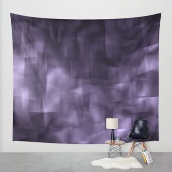Purple abstract painting. Wall Tapestry by VanessaGF