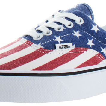 Vans Van Doren Men's Unisex American Flag Shoes
