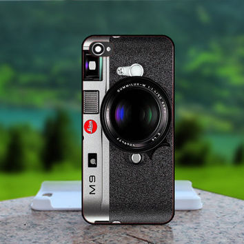M9 Leica Camera Pattern - Photo Print in Hard Case - For iPhone 4 / 4s Case , iPhone 5 Case - White Case, Black Case (CHOOSE OPTION )