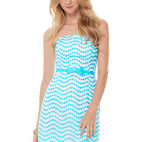 Leavens Strapless Fitted Dress - Lilly Pulitzer