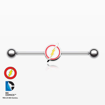 The Flash Steel Industrial Barbell