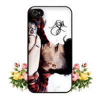 1D One Direction Zayn Malik Signature iPhone 4 4s 5 Case Cute Hipster Directioner iPod 5 Touch