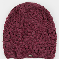 Krochet Kids Madeline Beanie Burgundy One Size For Women 26634232001
