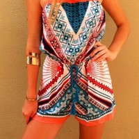 Tropical Play Romper