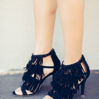 Gypsy Queen Fringe Heels