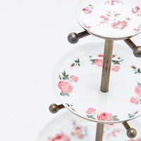 Floral Three Tier Jewellery Stand - Urban Outfitters