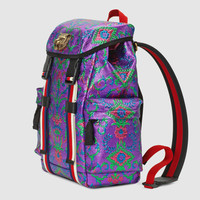 Gucci Multicolor brocade techpack