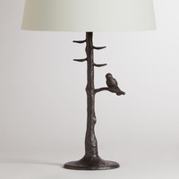 Woodlands Table Lamp Base - World Market