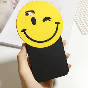 Korean Phone Case Iphone Strong Character Silicone Phone Case [8069830343]