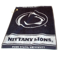 Penn State Nittany Lions NCAA Woven Golf Towel