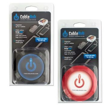 Assorted Red & Black CableHub Customizable Universal Charging Station ( Case of 36 )