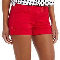 Celebrity Pink Roll-Cuff Shorts | Dillards.com