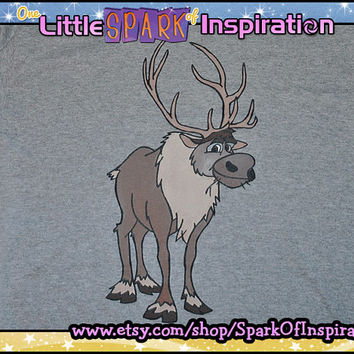 Sven the Reindeer Frozen T-Shirt Commission
