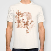 Bon Iver (Justin Vernon) T-shirt by CGdesigns