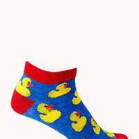 Duck Parade Ankle Socks