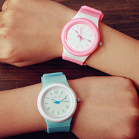 Womens Silicone Watch Gift 515
