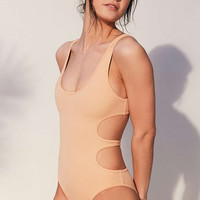 Without Walls Arabesque Katie Reversible One-Piece Swimsuit - Urban Outfitters