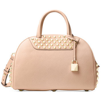 MICHAEL Michael Kors Austin Medium East West Bowling Satchel | macys.com