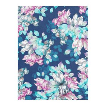 Textile Design Pattern Fleece Blanket