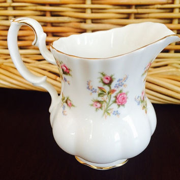 Royal Albert Creamer Bone China Winsome, Vintage Fine China, Felix Vintage Market