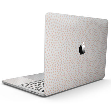 The All Over Micro Pink Dotted Pattern - MacBook Pro with Touch Bar Skin Kit