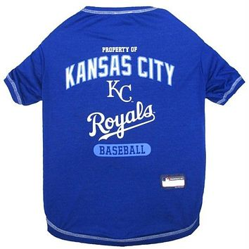 Kansas City Royals Pet T-Shirt