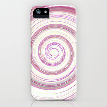 Re-Created Spin Painting No. 20  iPhone & iPod Case by Robert Lee